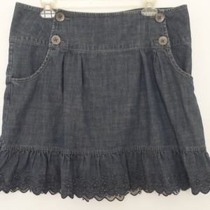 DKNY Jean Skirt Size 12